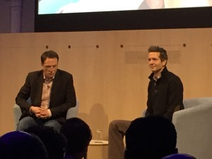 Frederic Laloux - with RSA Chief Executive Matthew Taylor. Source: http://inflectionpointblog.com/business/the-soulful-organisation/