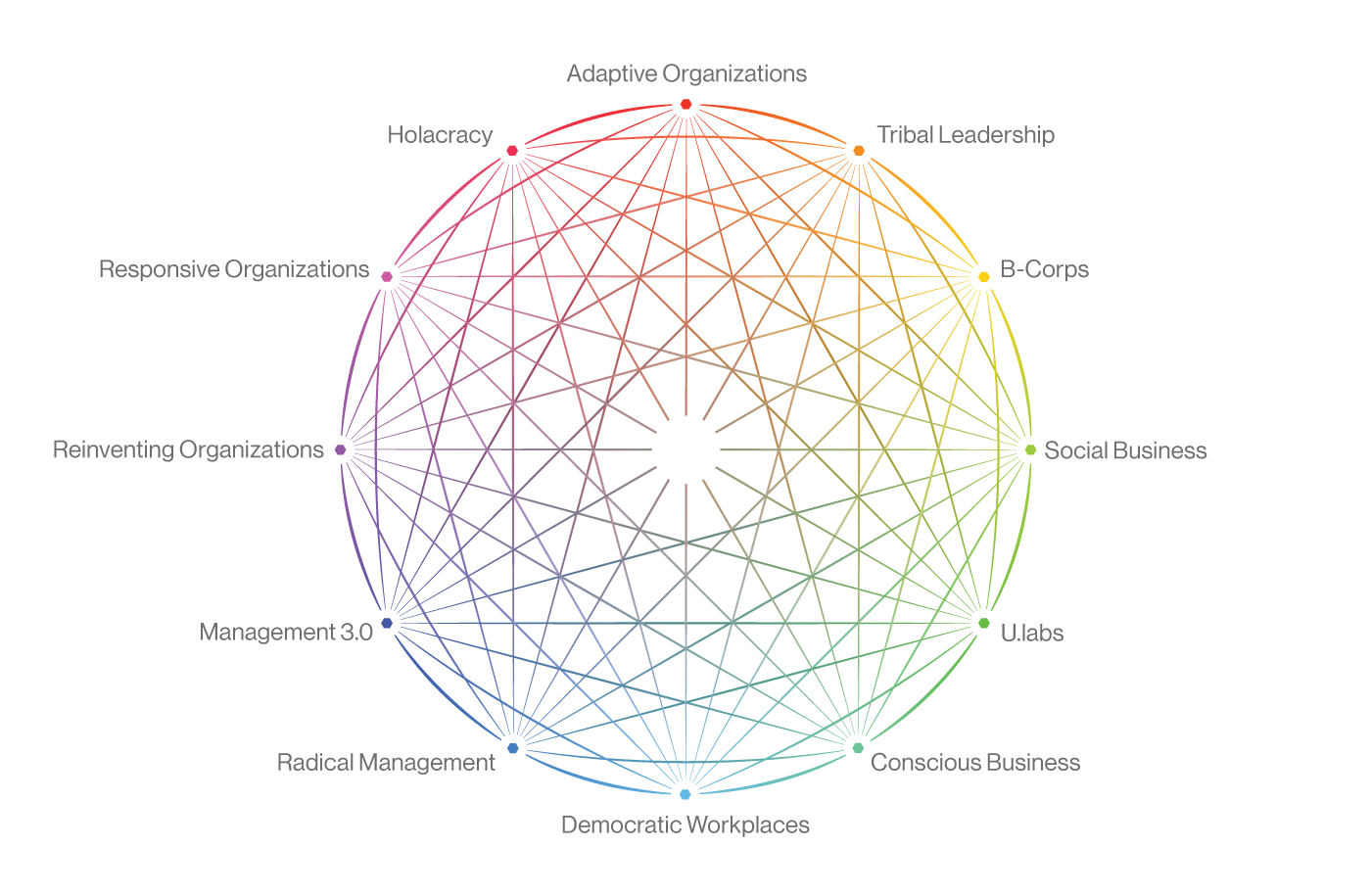 12-point ecosystem of the movements