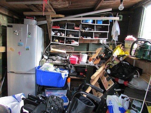 Garage Cleaning—Oh Joy!