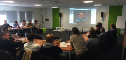 Bordeaux-Mérignac, March 2015, first contact with Holacracy
